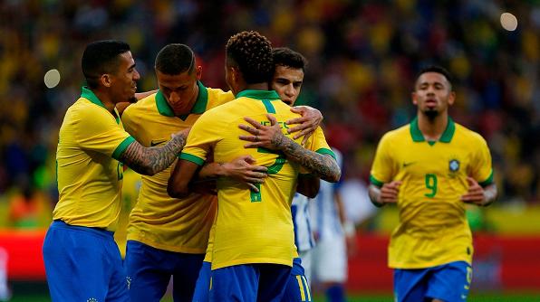 التشكيلة الرسمية للبرازيل أمام الأرجنتين
