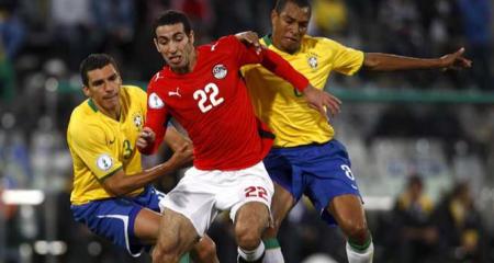 أبو تريكة يستحضر مباراة مصر والبرازيل