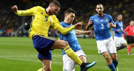 تشكيلة المنتخب الإيطالي الرسمية في مواجهة السويد