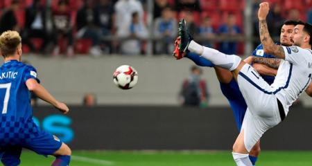 كرواتيا تكتفي بالتعادل أمام اليونان وتحجز مقعداً في المونديال