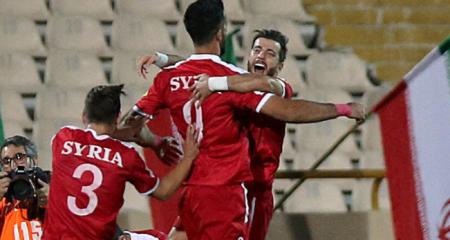 سوريا تقهر إيران بعد مباراة مثيرة وتتأهل للملحق الآسيوي