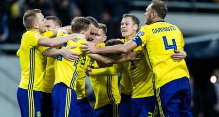 السويد تهزم روسيا وتتأهل للمستوى الأول في دوري الأمم الاوروبية