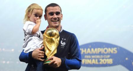 ماذا قال جريزمان بعد الفوز بكأس العالم ؟
