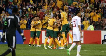 أستراليا تعبر الإمارات وتتأهل الى نهائي كأس أسيا .