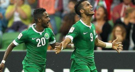 المنتخب السعودي يكتسح كوريا الشمالية في كأس أسيا .