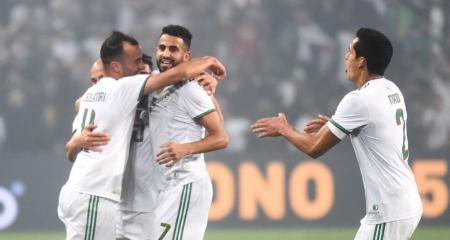 تشكيلة الجزائر أمام بوتسوانا