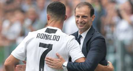 أليجري: رونالدو سيبقي في يوفنتوس، وهذا مايحتاجه ميلان