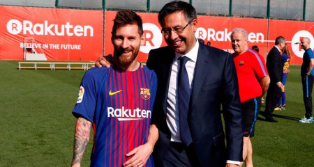 بارتوميو: ميسي سيعتزل في برشلونة