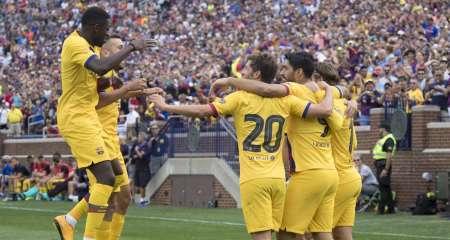 تشكيلة برشلونة الرسمية امام ريال بيتيس
