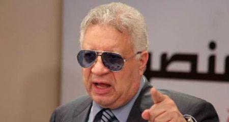 مرتضى منصور يعلن رحيل جروس عن الزمالك