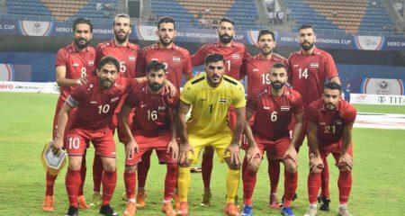 نتيجة مخيبة جديدة لمنتخب سوريا تخرجه من البطولة