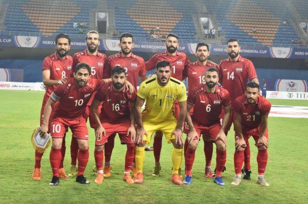 تشكيلة سوريا الرسمية أمام الهند