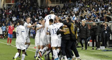 فنلندا تتأهل إلى أمم أوروبا لأول مرة في التاريخ