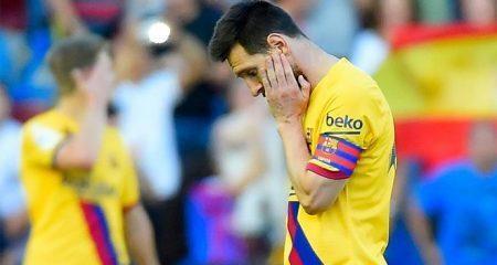 فيديو.. ميسي يثير الذعر في برشلونة قبل الكلاسيكو