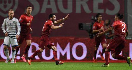 رسمياً : البرتغال تتأهل الى نهائيات اليورو بالفوز على الدانمارك