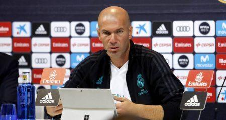 زيدان: هذا ماعلينا القيام به غداً، وراؤول سيدرب ريال مدريد