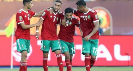 التشكيل الرسمي لمباراة المغرب وموريتانيا