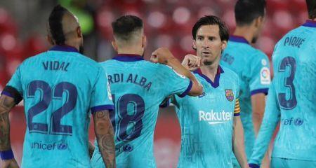 تشكيلة برشلونة المتوقعة أمام إسبانيول