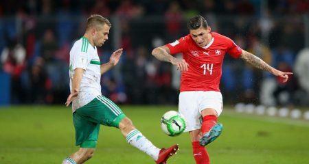 سويسرا تحجزاً مقعداً في كأس العالم على حساب إيرلندا الشمالية