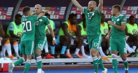 الجزائر تحقق الفوز الثاني في تصفيات الكان