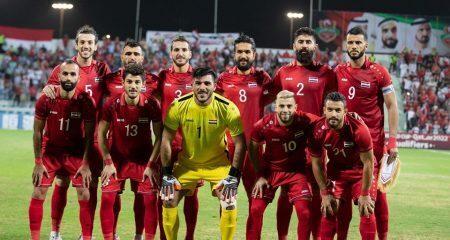 إصابة 4 لاعبين و3 إداريين من منتخب سوريا بكورونا