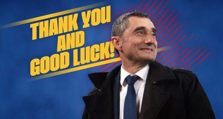 رسمياً ... برشلونة يعلن إقالة فالفيردي ويكشف عن البديل