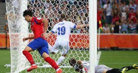 كوريا الجنوبية أول المتأهلين للمربع الذهبي من كأس أسيا .