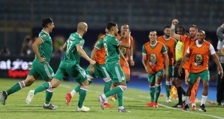 تشكيلة الجزائر الرسمية أمام نيجيريا