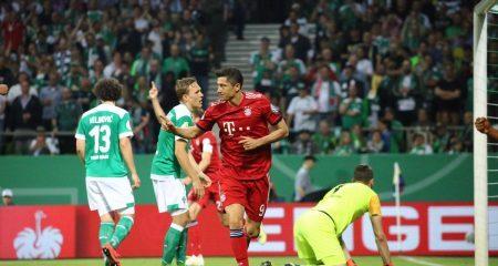 بايرن ميونخ يبلغ نهائي كأس ألمانيا بفوز مثير على بريمن