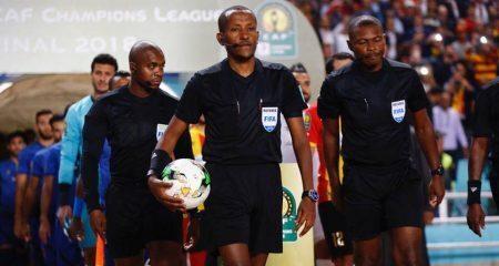 الاتحاد المغربي يشكو حكم مباراة الزمالك ونهضة بركان