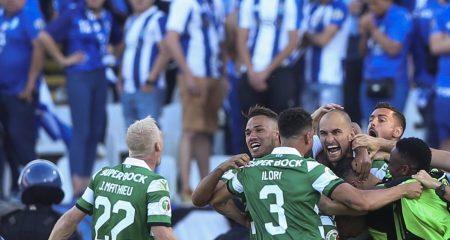 سبورتينج لشبونة بطلاً لكأس البرتغال على حساب بورتو