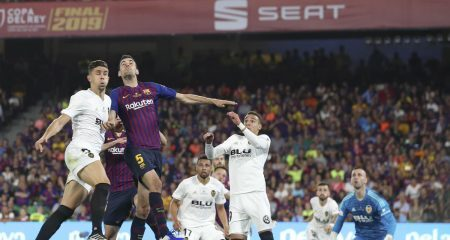 فالنسيا بطل كأس اسبانيا للمرة الثامنة على حساب برشلونة