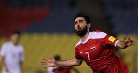 عمر خريبين يغادر معسكر المنتخب السوري ويعود لنادي الهلال