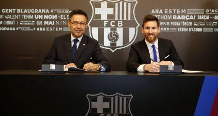 تطور جديد بشأن مستقبل ميسي مع برشلونة