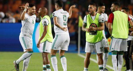 منتخب الجزائر يتوج بكأس أمم إفريقيا