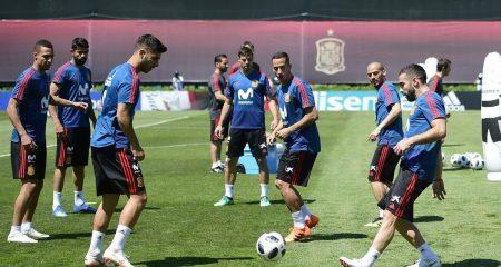 أنباء سارة جداً في تدريبات المنتخب الإسباني
