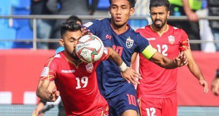 البحرين تسقط أمام تايلاند في كأس الأمم الآسيوية