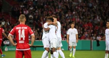 بايرن ميونخ يبلغ الدور الثاني من بطولة كأس ألمانيا