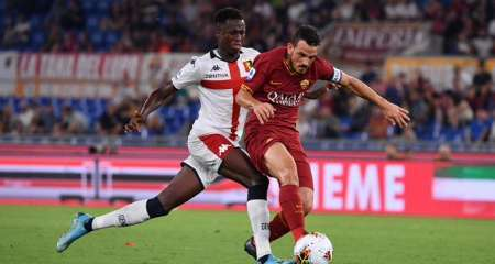 بداية مخيبة لروما في الدوري الإيطالي