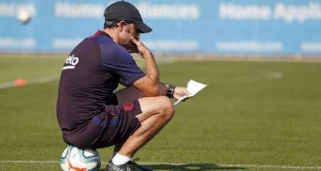 تقارير: برشلونة سيعلن إقالة فالفيردي اليوم