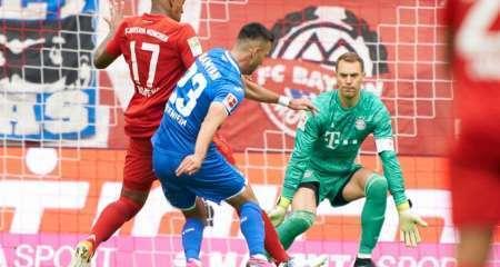 هوفنهايم يصعق بايرن ميونيخ في الدوري الألماني