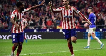 اتلتيكو يهزم بيلباو ويتقاسم الصدارة مع برشلونة