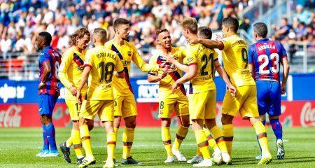 تقييم لاعبي برشلونة أمام إيبار