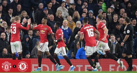 مانشستر يونايتد يصعق تشيلسي ويتأهل الى ربع نهائي كأس الرابطة