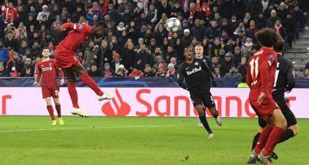 ليفربول يحسم تأهله الى دور الـ16 بالفوز على سالزبورج
