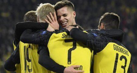 دورتموند يتأهل لثمن نهائي دوري الأبطال