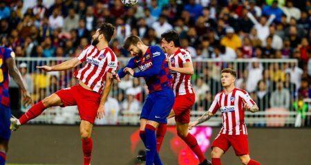 أتليتكو يواجه الريال في نهائي السوبر بعد ريمونتادا رائعة أمام برشلونة