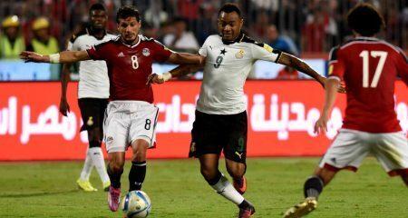 المنتخب المصري ينهي التصفيات بالتعادل أمام المنتخب الغاني