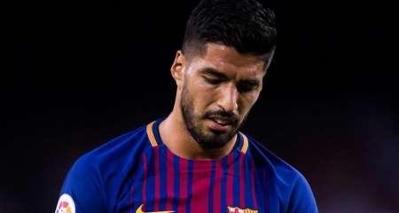 رسمياً.. برشلونة يؤكد غياب سواريز 4 أشهر