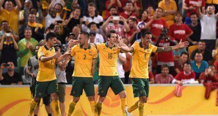 إستراليا تحرق التنين الصيني وتتأهل الى نصف نهائي كأس أسيا .